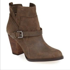 """Ivanka Trump """"Frankly"""" Belted Round Toe Bootie"""
